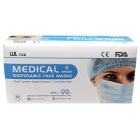 3-PLY Medical Disposable Face Masks 50 Units