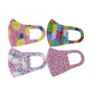 Reusable Kids Face Masks For Girls